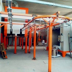 China morden design powder coating machine