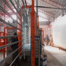 Complete aluminum profiles powder coating line manufactured in china