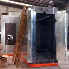 Diesel oil gas dual use burner type powder coating oven